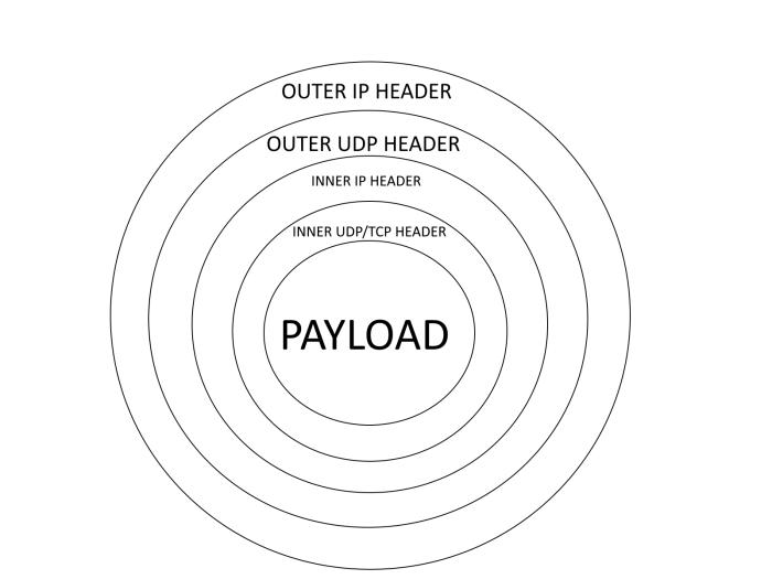 Onion-layered packet